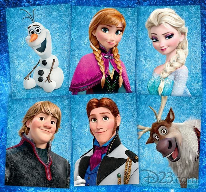 Disney You Re Amazing: Frozen Characters(P.S. I LOVE ELSA SHE'S AMAZING)