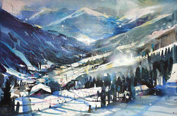 Art From Bernhard Vogel Saalbach Hinterglemm Salzburg