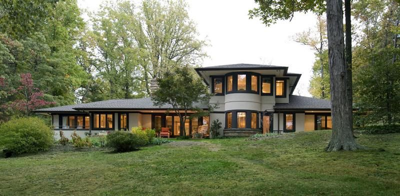 Frank Lloyd Wright Prairie Houses prairie style architecture | gilmore house madison wi cities with