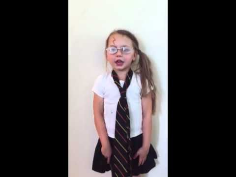 5 Year Old Singing Harry Potter In 99 Seconds Jon Cozart Harry Secret Chambers