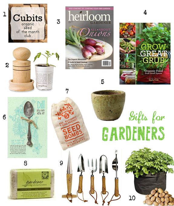 These Are Some Nice Gifts For The Gardener