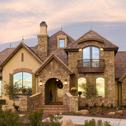 Rock And Stucco Exteriors Design Ideas Pictures Remodel And