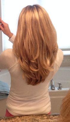 my hair on Pinterest | Hair, Long Layered Haircuts and Sarah Drew