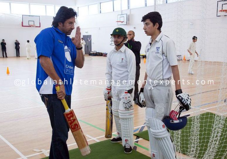 'Fast Bowling Master Class' with WasimAkram at the