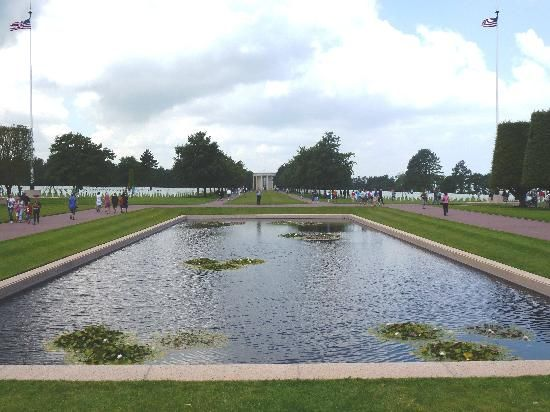 Emotional Normandy Cemetery | Basse-Normandie, France: Overview of one Cemetery area