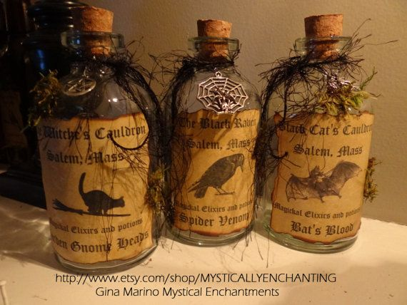 how to make a witch potion