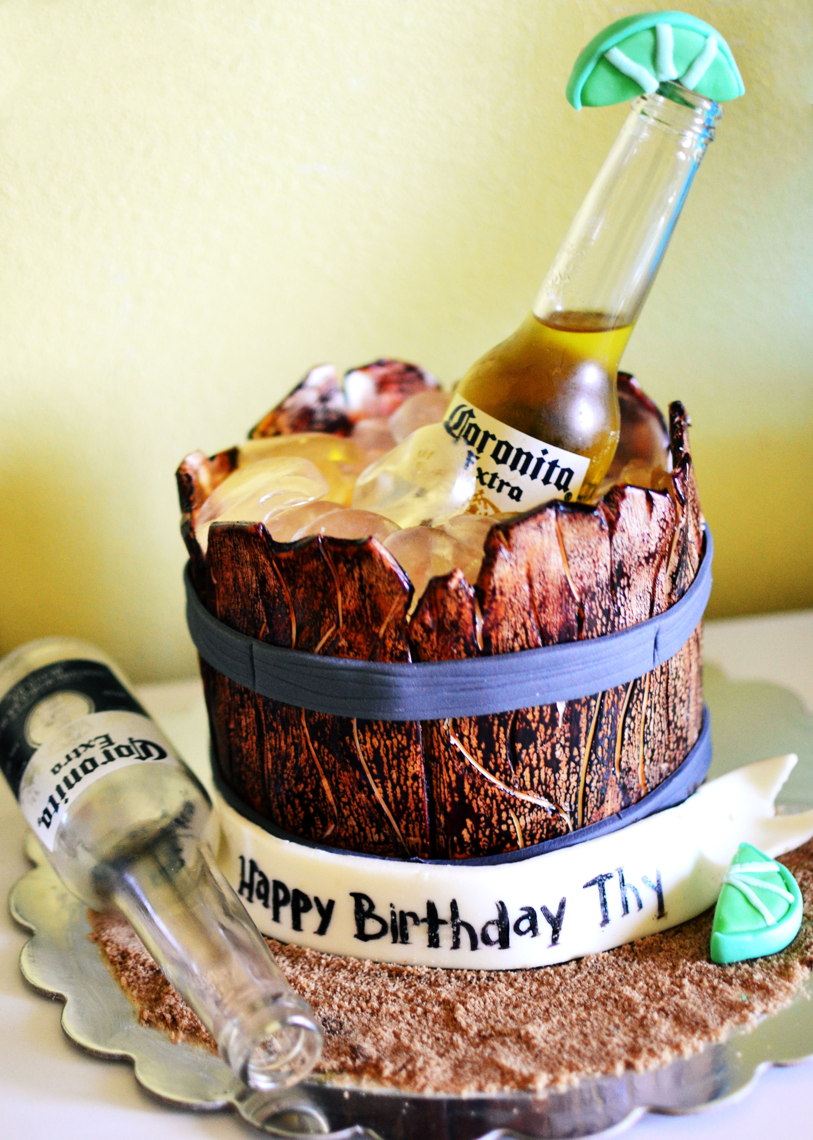 Corona Cake Things I Ve Made Corona Cake Diy Birthday