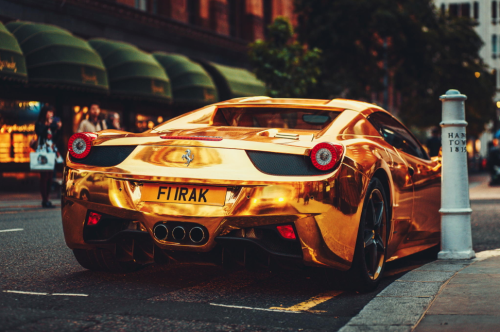 Ferrari Gold By Edagr Katkov Tls Exotic S Cars Pinterest