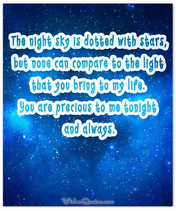 Message Quotes About Life Enchanting 30 Goodnight Messages And Images To Make Him Feel The Love At