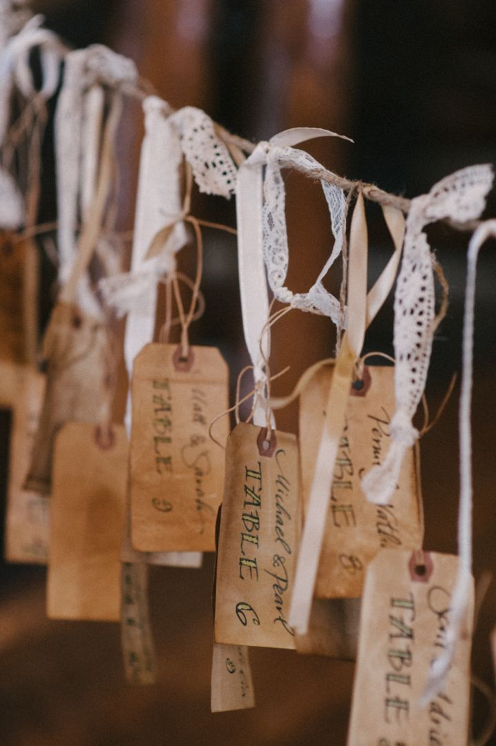 Rustic wedding escort cards | fabmood.com #wedding #escortcards #rusticwedding #weddingstyle #ido #weddinginspiration