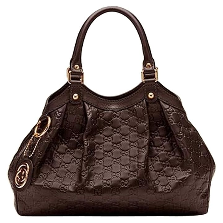 d11f6d49591a50 Gucci Brown Guccissima 'Sukey' Large Leather Tote Bag - Catch 22 Boutique  #luxuryconsignment #luxuryresale
