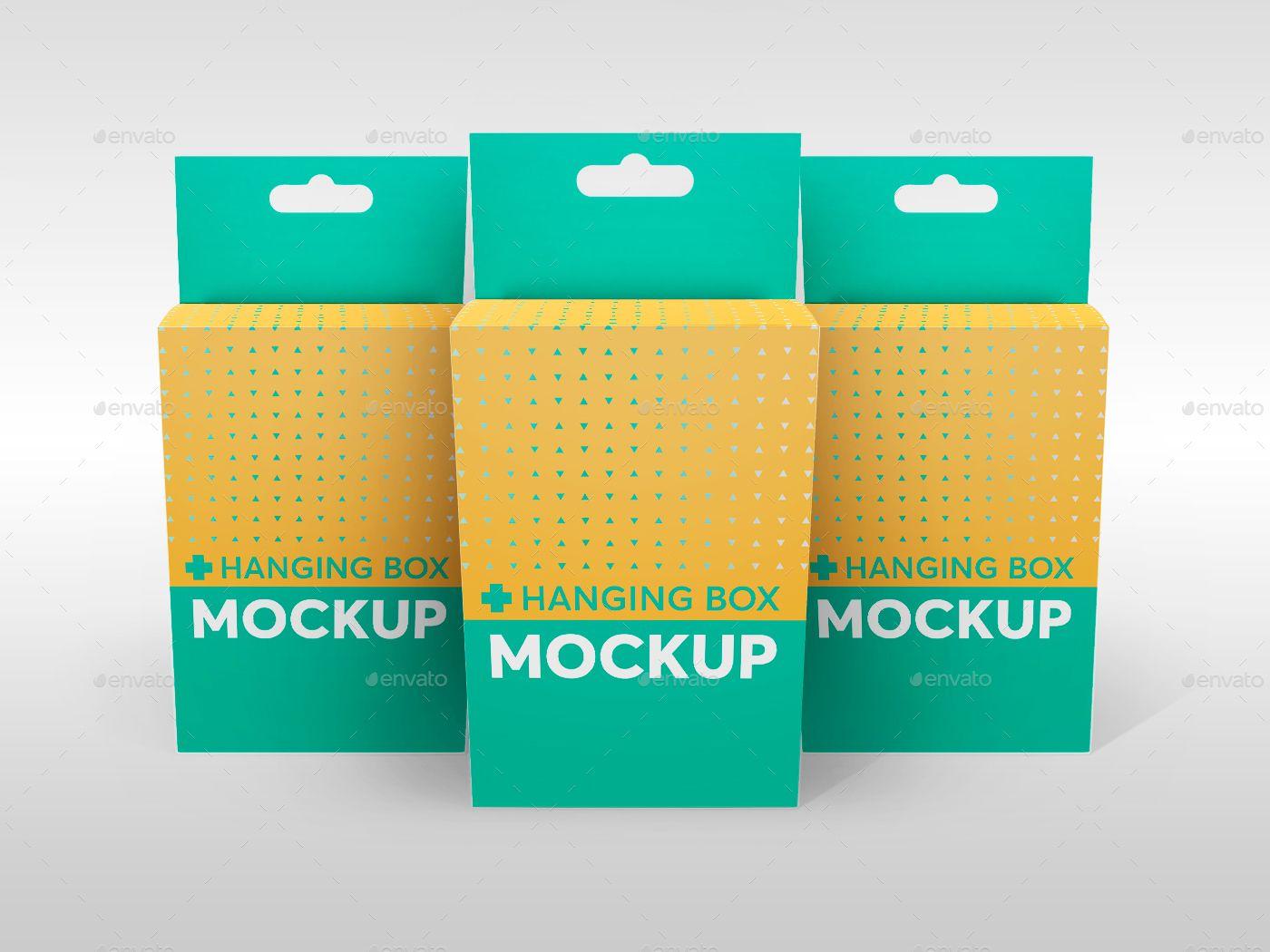 Download Hanging Box Mockup V 1 Hanging Box Mockup Box Mockup Box Packaging Design Branding Design Inspiration
