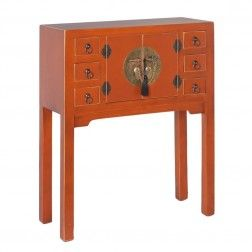 Mueble chino consola calabaza 2 puertas muebles for Muebles chinos online