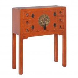 Mueble Chino Consola Calabaza 2 puertas. #Muebles #chinos y #orientales en nuryba.com tu #tienda #online de #decoracion de #interiores en #Madrid