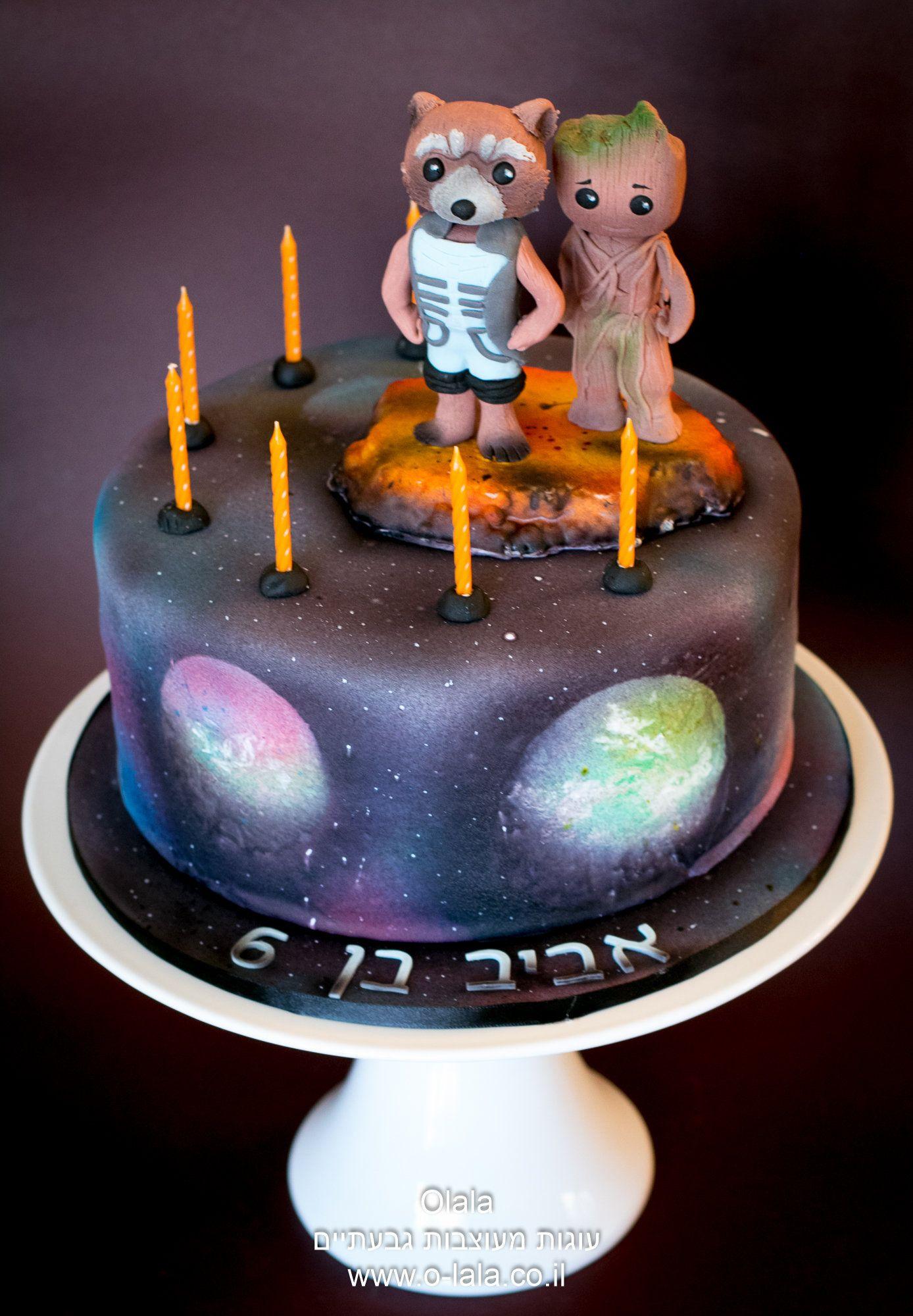 the guardians of the galaxy cake   Cakes by Olala - עוגות מעוצבות ...