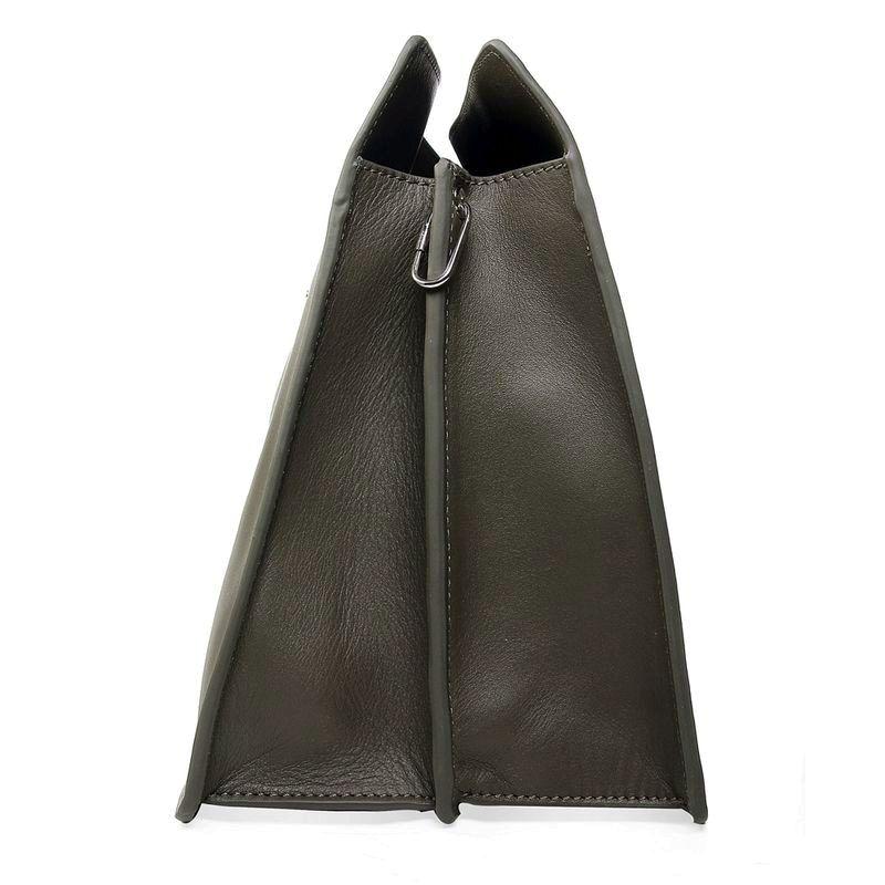 7190b2a2b3b8 2017 new Celine Original Leather Shoulder Bag Dark Green 3355 2 sale ...