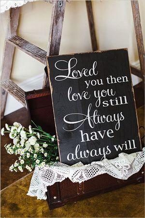 Wedding Ideas Top 15 Rustic Wedding Signs Wedding Renewal Vows