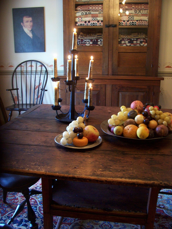 farmhouse – interior – vintage early american farmhouse showcases