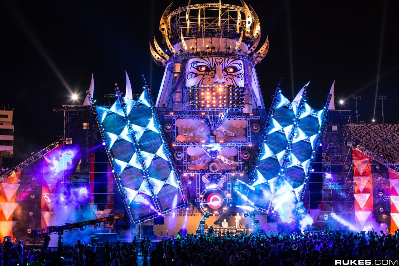 2012 Electric Daisy Carnival Live Sets Electric daisy