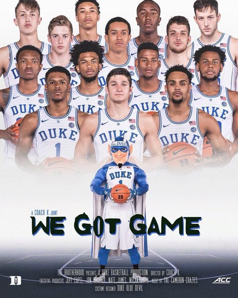 Class 2018 Duke basketball, Duke blue devils, Duke