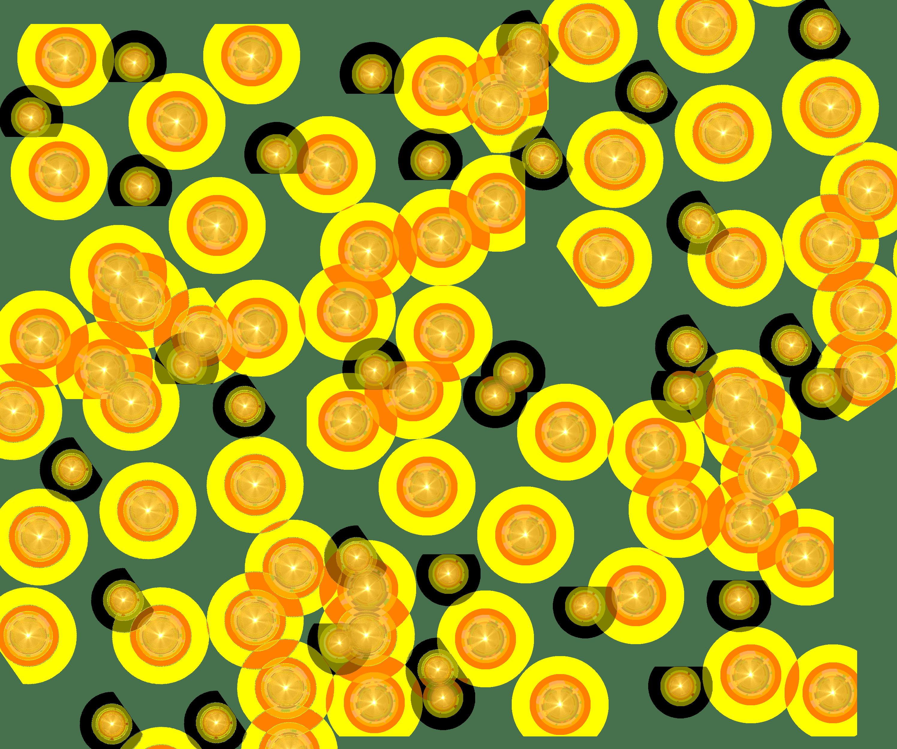 Bright Yellow Stars Bright Yellow Yellow Transparent