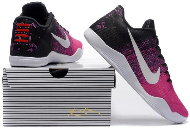low priced 2459a 43de1 Nike Kobe 11 Elite Pink White Black1