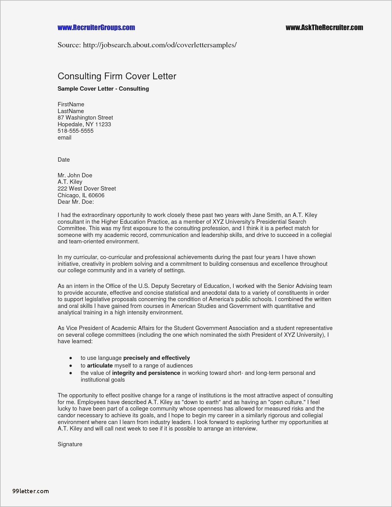 New Business Letter Block Format Template With Images Cover