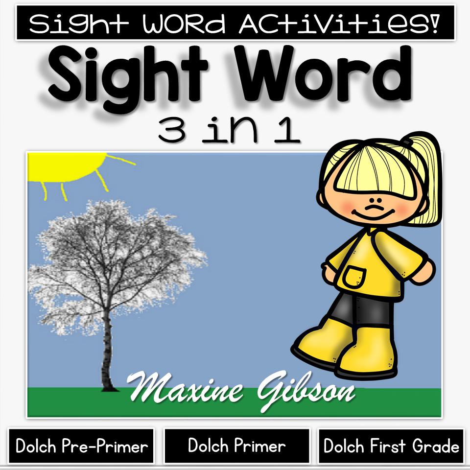 Sight word in kindergarten printables pinterest sight