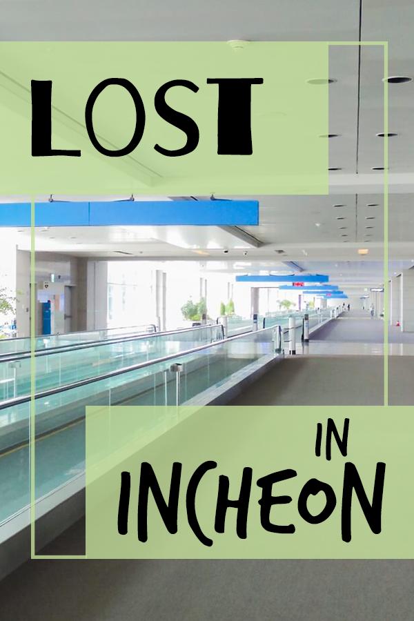Meine Ankunft in Incheon. Was ihr alles auf dem Flughafen