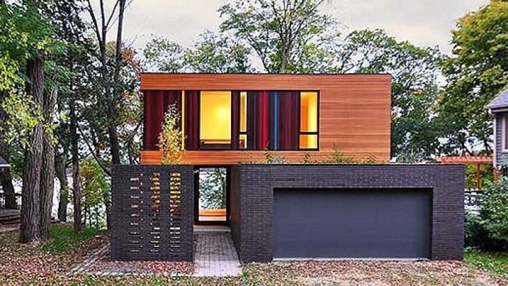 Surprising 17 Best Images About Contemporary Small Wood Homes On Pinterest Largest Home Design Picture Inspirations Pitcheantrous