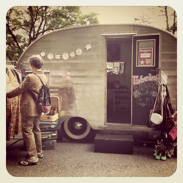 Salvaged Trailer Turned Tiny: Turn And Old Camper Trailer Into A Movable Store!