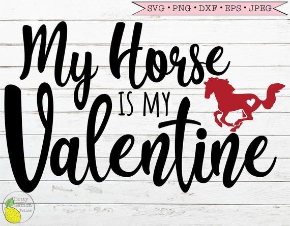Download Valentine SVG, Horse Love Heart Valentines Day svg dxf png ...