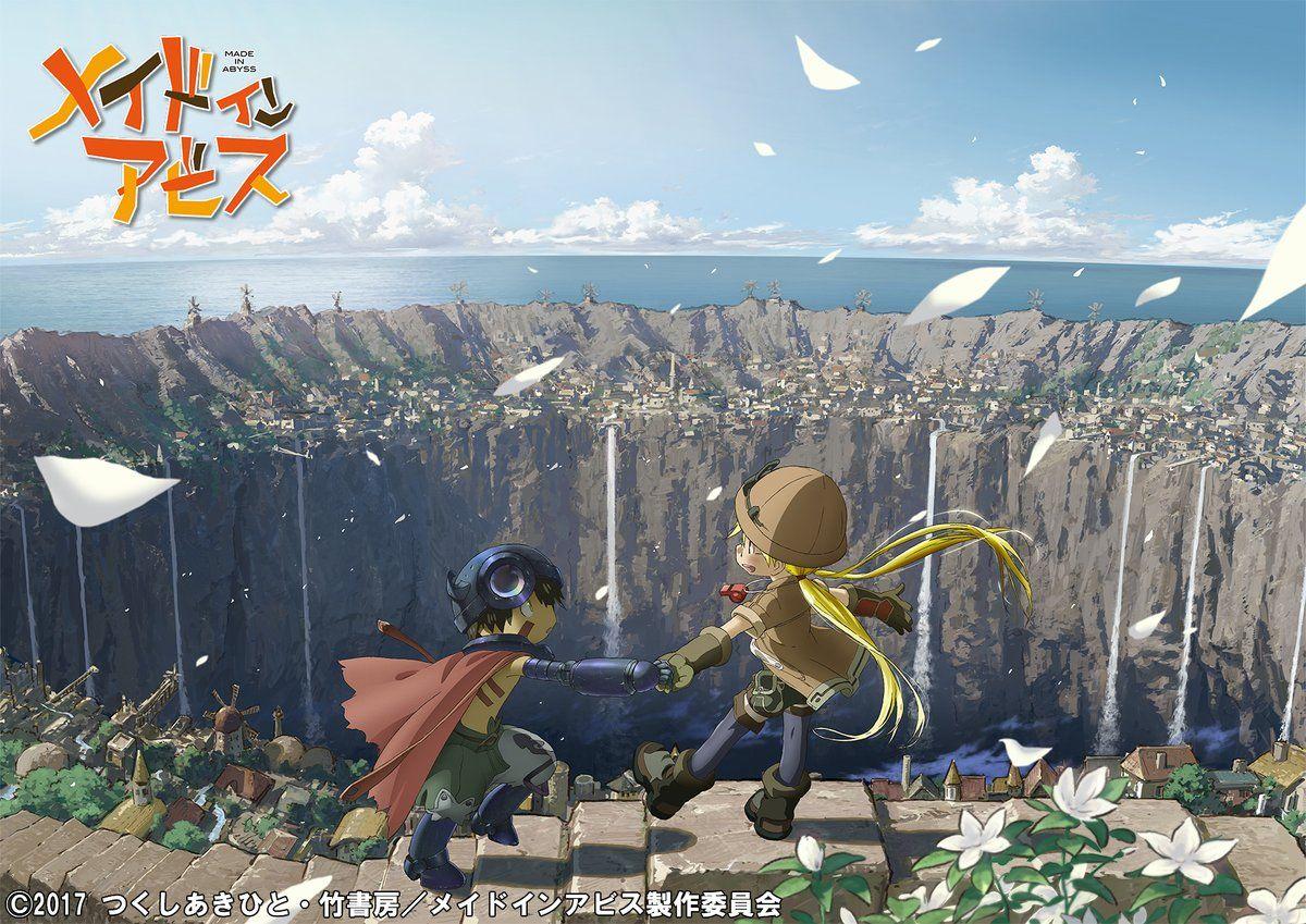 Adventure manga, 'Made in Abyss', gets a TV anime adaptation - http://sgcafe.com/2016/12/adventure-manga-made-abyss-gets-tv-anime-adaptation/