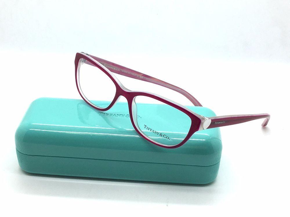 New tiffany & co tf 2087-h 8176 sunglasses frame women\'s cherry/shot ...