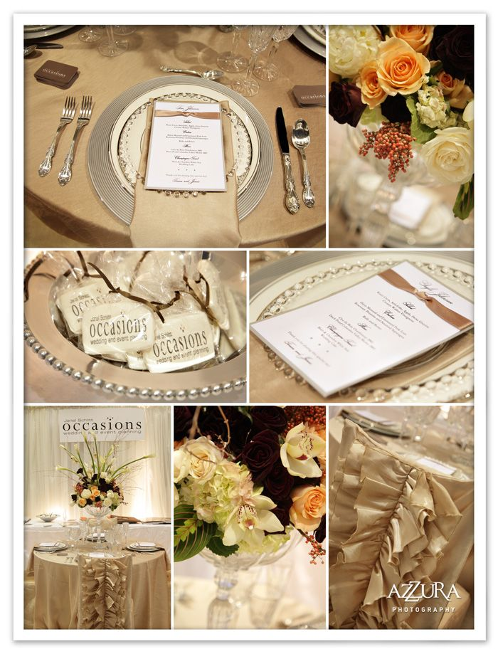 Love This Wedding Color Palette Silver Taupe Gold Cream