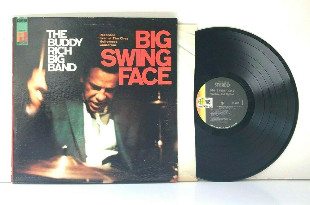 The Buddy Rich Big Band Big Swing Face 1967 Vinyl 12 Lp Vg Prog Jazz In 2020 Big Band Vinyl Vinyl Records