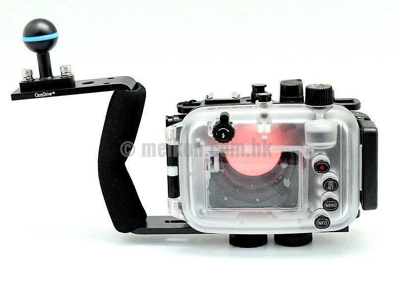 Canon Powershot G9x 40m 130ft Meikon Underwater Camera Housing Aluminium Handle Underwater Camera Housing Underwater Camera Powershot