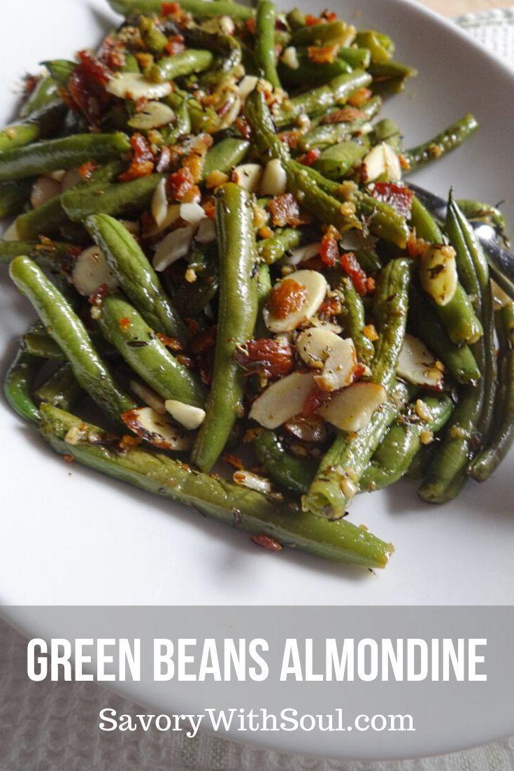 Green Beans Almondine | Recipe | Green beans almondine ...