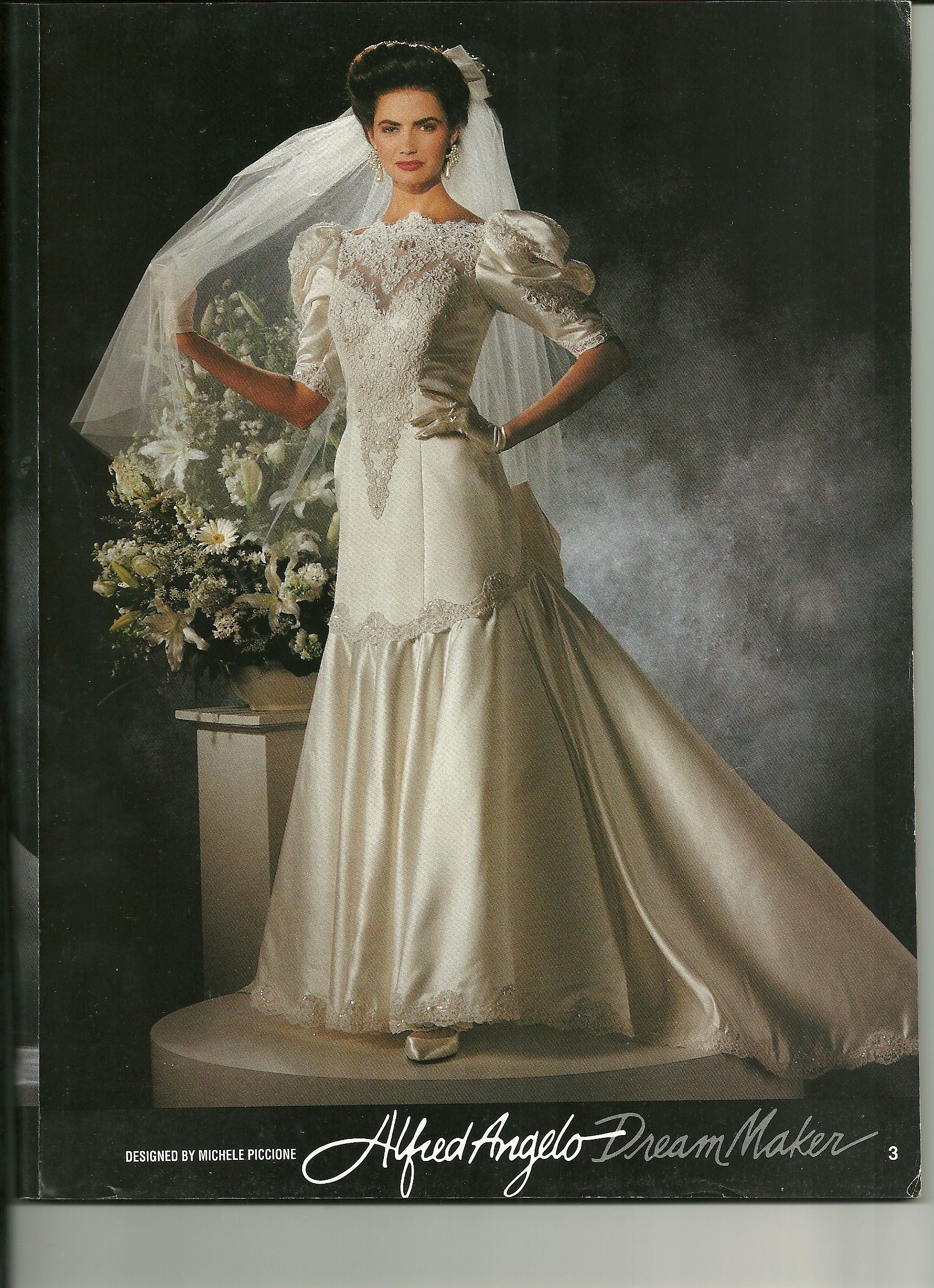 Alfred Angelo Dream Maker Spring of 1992 | 1990's wedding gowns ...