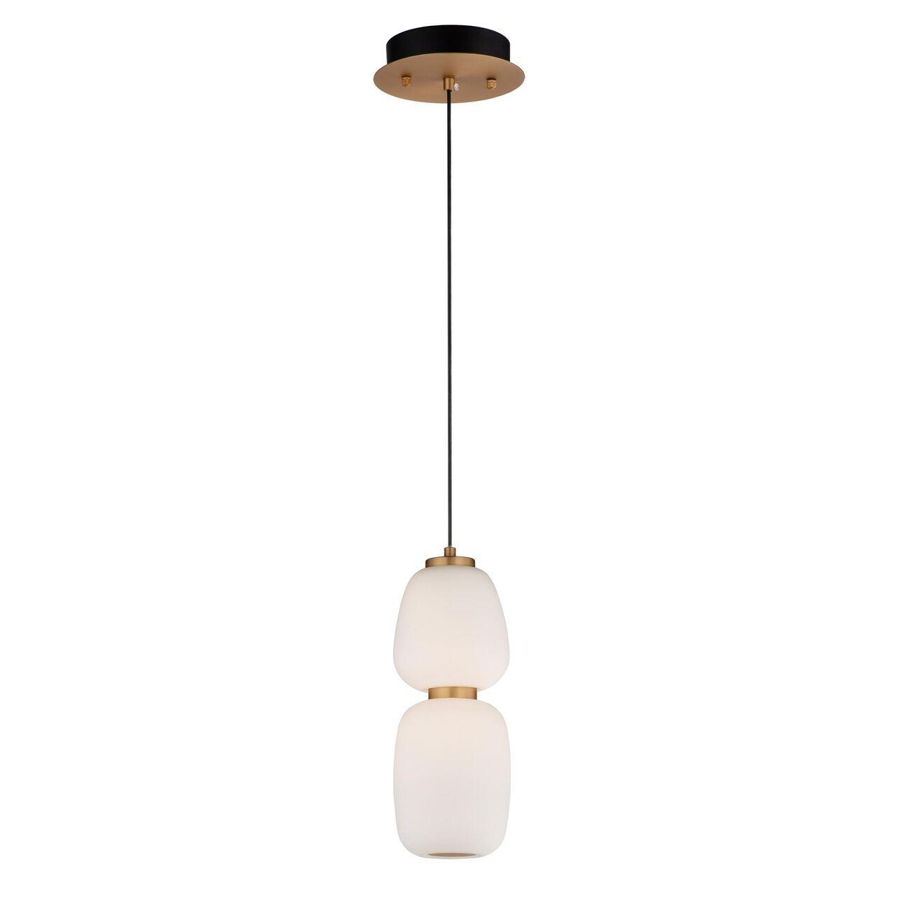 Soji 4 Inch Led Mini Pendant Capitol Lighting In 2021 White Glass Contemporary Pendant Lights Pendant Light Design