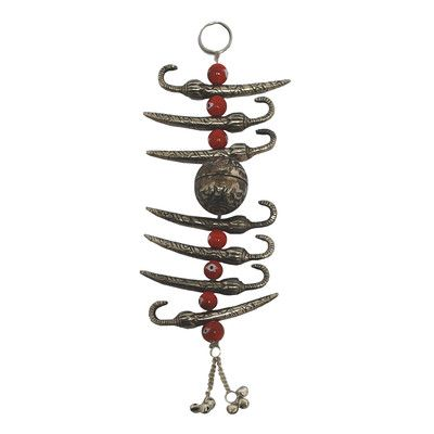 St. Croix Evil Eye Warder Beads Hanging Wall Décor