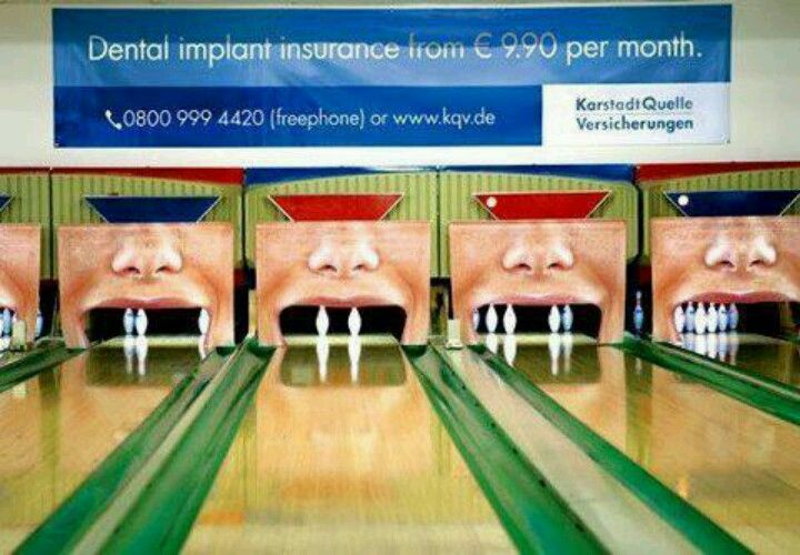 Bowling Dental Fun Dental Humor Dental Insurance