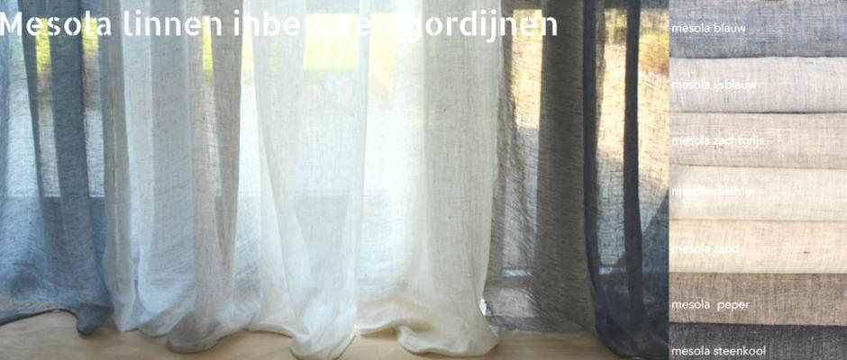 gordijnen vouwgordijnen op maat kopen inbetween tot verduisterende gordijnen linnen linnenlook