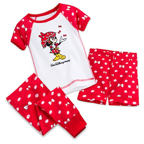 41462941a Minnie Mouse Three-Piece Pajama Set for Baby - Walt Disney World ...