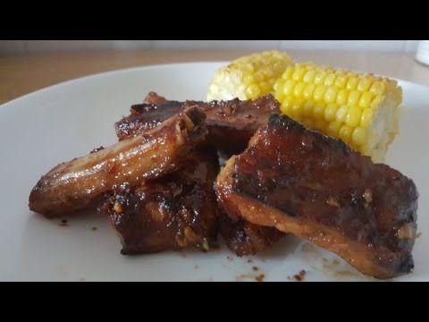 Airfryer BBQ Pork Ri