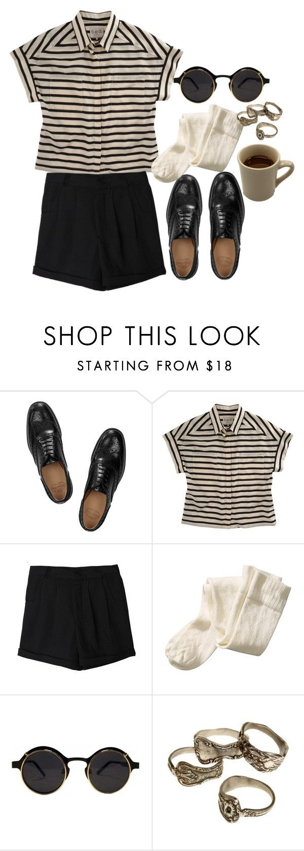 """Untitled #247"" by marta-andrade ❤ liked on Polyvore featuring Church's, Sea, New York and H&M"