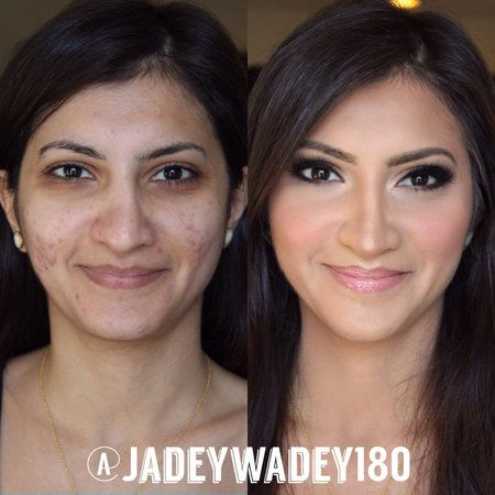 Pore fillers, hiding acne & scars - #makeup #pores #acne #scars #makeupcoverage #fullcoverage #jadeywadey180