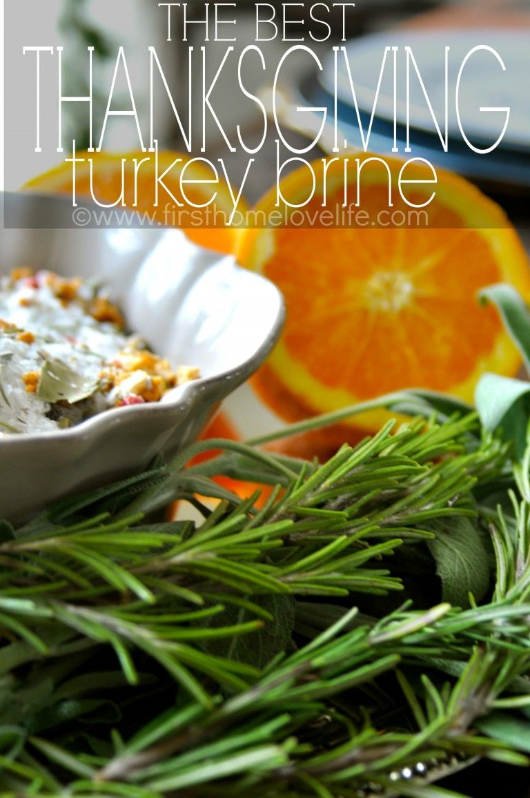 The Best Thanksgiving Turkey Brine