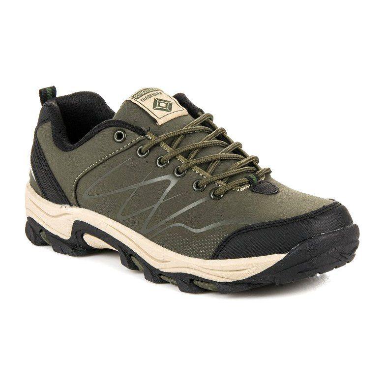 Trekkingowe Damskie Axboxing Zielone Niskie Buty Trekkingowe Ax Boxing Boots Sketchers Sneakers Shoes