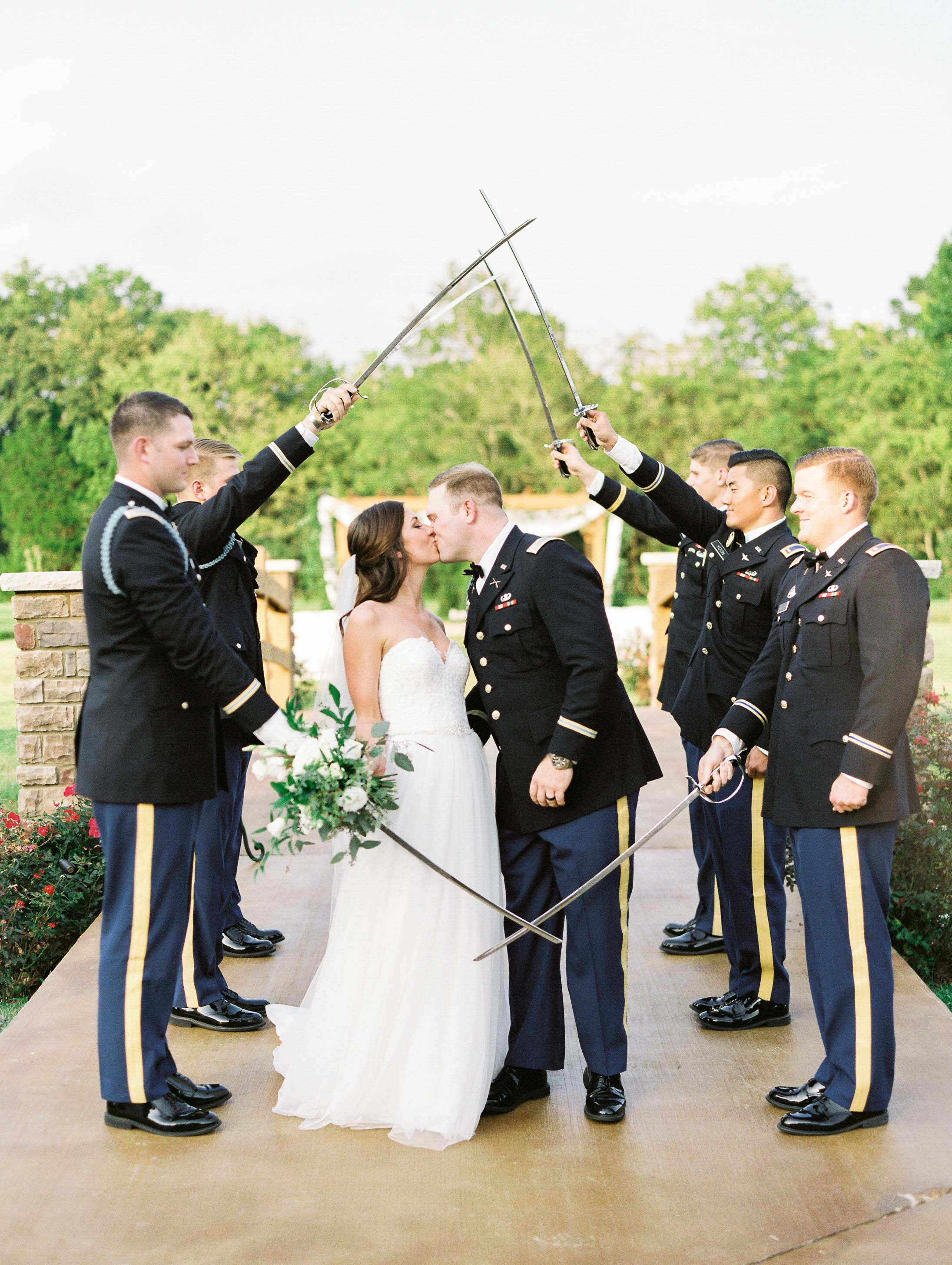 Classic Fall Wedding At Sycamore Farms Military Wedding Army